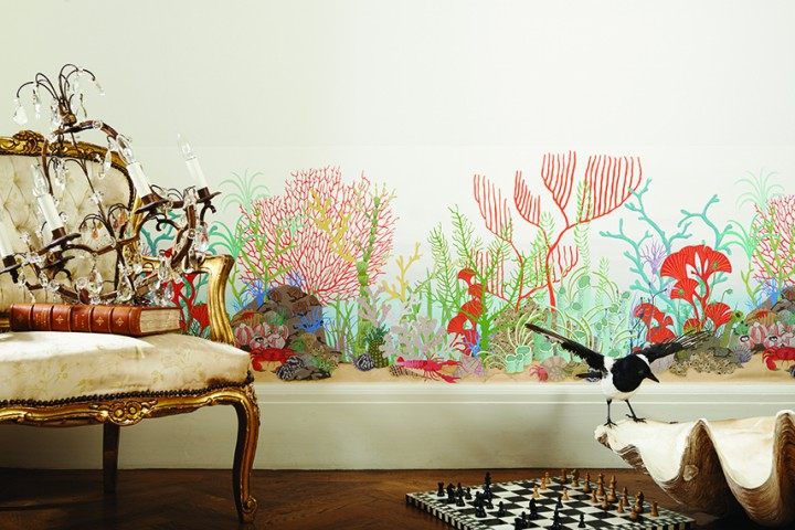 Cole-Son-Whimsical-Archipelago-Border-wallpaper-galleriamia